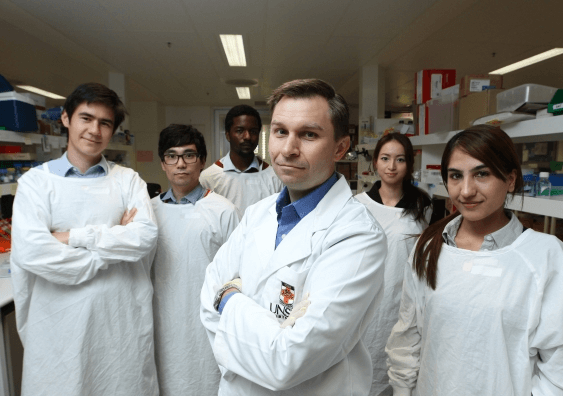 Research team at UNSW
